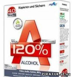Alcohol 120% 2.0.1.1820 Retail + Loader by Cheerpipe v1.2 + PatCh 5.0.3 ML + LdR_Alcohol скачати