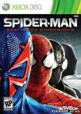 Spider-Man: Shattered Dimensions (2010/RF/RUS/XBOX360) бесплатно скачати