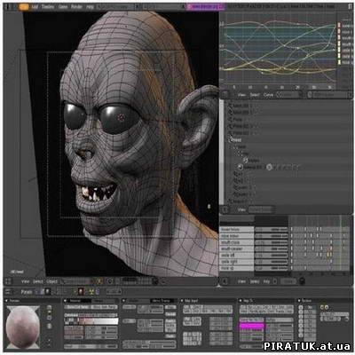 3D-редактор Blender v.2.57 (64-bit)
