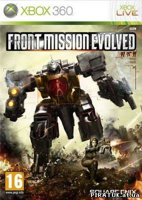Front Mission Evolved (2010/XBOX360/ENG/RegionFree)